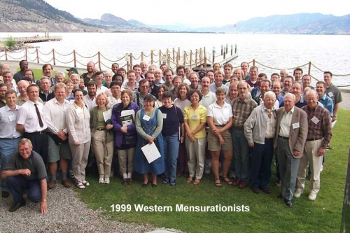 1999 Western Mensurationists Group Picture