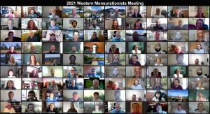 2021 Virtual Western Mensurationists Group Photo